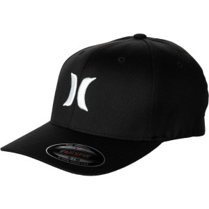 Hurley One & Only Black White Flexfit Hat