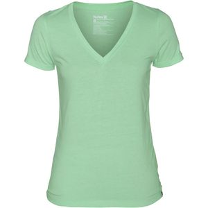 Hurley Solid Perfect V-Neck T-Shirt - Women's