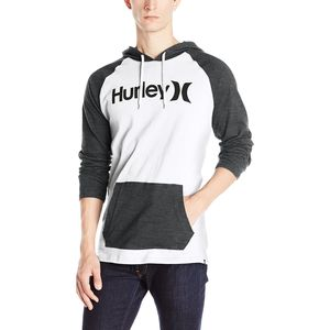 Hurley One & Only Raglan Jersey Pullover Hoodie - Men's