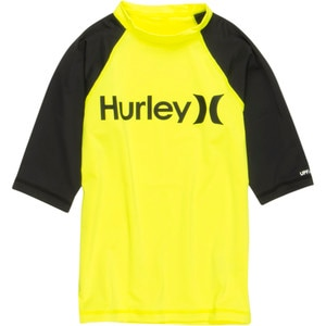 Hurley One & Only Neon Rashguard - Long-Sleeve - Boys'