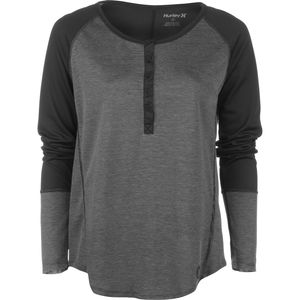 Hurley Dri-Fit Henley Shirt - Long-Sleeve - Women's