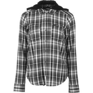Hurley Wilson Hooded Shirt - Long-Sleeve - Women's