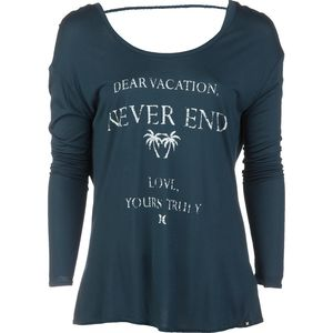 Hurley Dear Vacation Cut Out T-Shirt - Long-Sleeve - Women's