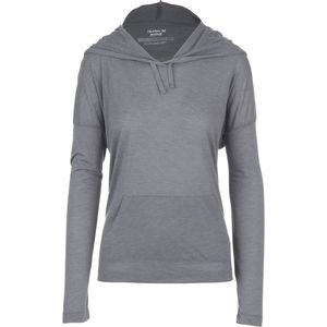 Hurley Solid Novelty Pullover Hoodie - Women's
