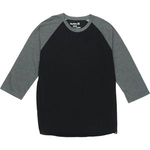 Hurley Staple Dri-Fit Raglan Shirt - 3/4-Sleeve - Men's