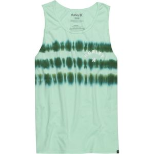 Hurley Civilian Stripe Tie Dye Tank Top - Men's