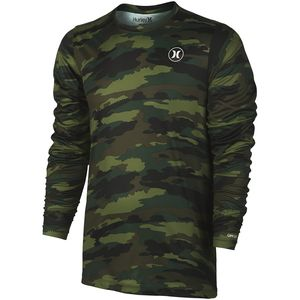 Hurley Dri-Fit Camo Surf T-Shirt - Long-Sleeve - Men's