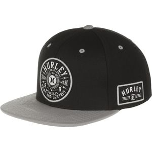 Hurley Printing Press Snapback Hat