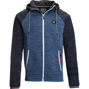 Hurley Phantom Motion Fleece Full-Zip Hoodie - Men's