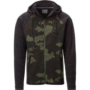 Hurley Phantom Deploy Full-Zip Fleece Hoodie - Men's