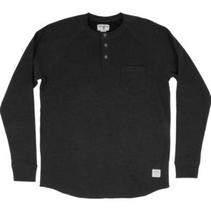 Iron and Resin Hat Trick Henley - Men's