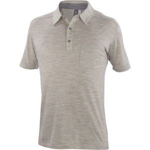 Ibex OD Heather Polo Shirt - Short-Sleeve - Men's