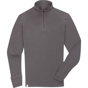Ibex Woolies Zip T-Neck Shirt - Men's
