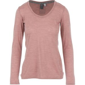 Ibex OD Heather Crew - Long-Sleeve - Women's