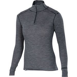 Ibex Woolies Zip T Stripe Top - Women's