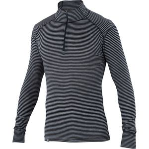 Ibex Woolies 1 Stripe Zip-Neck Top - Men's