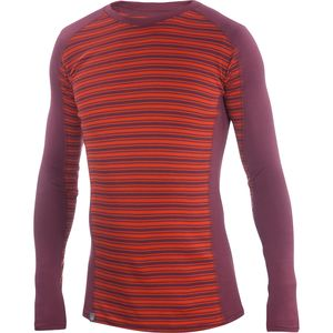Ibex Woolies 2 Stripe Crew Top - Men's