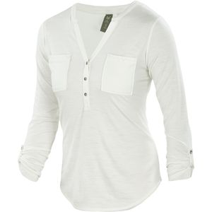 Ibex OD Shanti Henley Shirt - Long-Sleeve - Women's