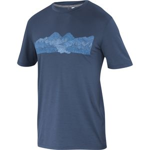 Ibex White Clouds Art T-Shirt - Short-Sleeve - Men's
