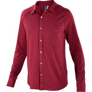 Ibex OD Heather Shirt - Long-Sleeve - Men's