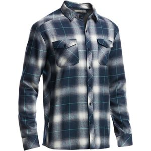 Icebreaker Lodge Flannel Shirt - Long-Sleeve - Men's