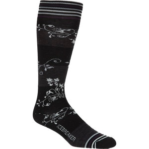 Icebreaker Ultralight Vines Over The Calf Sock - Women's
