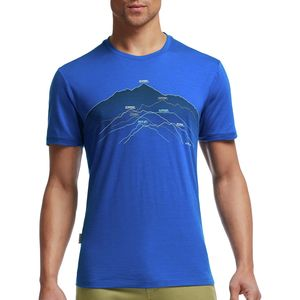 Icebreaker Tech Lite Seven Summits Crew - Short-Sleeve - Men's