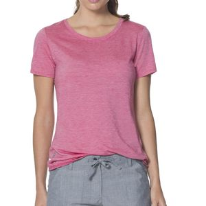 Icebreaker Sphere Stripe Low Crew - Short-Sleeve - Women's