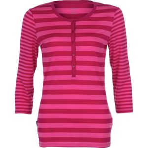 Icebreaker Tech Lite Stripe Henley - 3/4-Sleeve - Women's