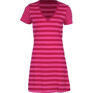 Icebreaker Tech Lite Stripe V-Neck Dress - Women's