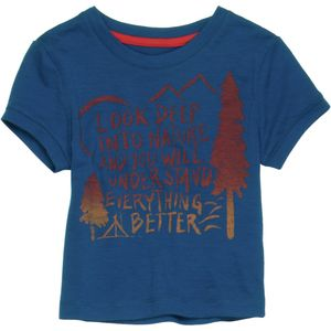 Icebreaker Tech Lite Camp T-Shirt - Short-Sleeve - Toddler Boys'