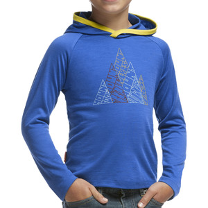 Icebreaker Tech Hood Five Peaks Sweatshirt - Toddler Boys'