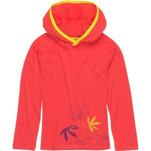 Icebreaker Tech Passion Vines Hooded Shirt - Long-Sleeve - Girls'