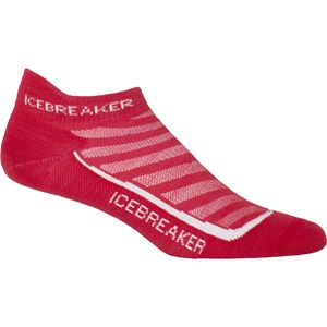 Icebreaker Run Plus Ultra Light Anatomical Micro Sock - Men's