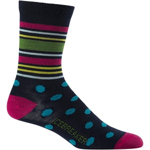 Icebreaker Ultralight Spots 3/4 Crew Sock - Women's