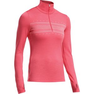 Icebreaker Tech 1/2-Zip Fair Isle Sweater - Women's