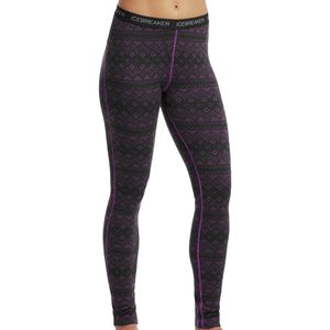 Icebreaker Vertex Icon Fairisle Leggings - Women's