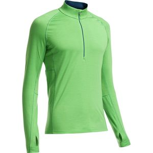 Icebreaker Bodyfit 200 Lightweight Zone Top - 1/2-Zip - Men's