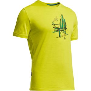 Icebreaker Tech Lite Logo Crew - Short-Sleeve - Men's