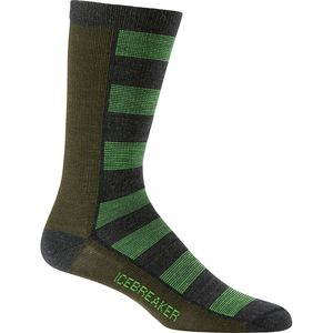 Icebreaker Lifestyle Bisect UltraLight Crew Sock - Men's