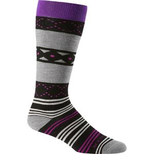 Icebreaker Lifestyle Fiesta Medium Over The Calf Sock - Women's