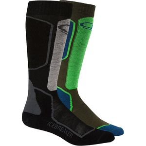 Icebreaker Ski Plus Over The Calf Light Sock - 2-Pack - Men's