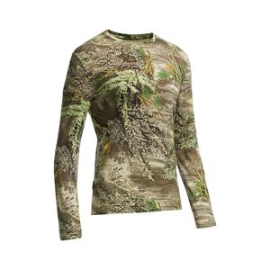 Icebreaker Tech Lite Real Tree Crew - Long-Sleeve - Men's