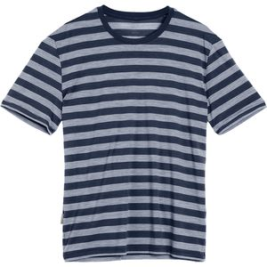 Icebreaker Tech Lite Stripe Crew - Short-Sleeve - Men's