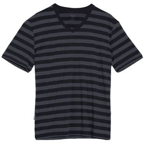Icebreaker Tech Lite Stripe V-Neck T-Shirt - Short-Sleeve - Men's