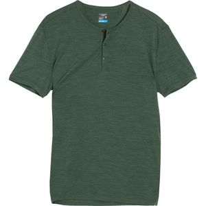 Icebreaker Sphere Henley Shirt - Short-Sleeve - Men's