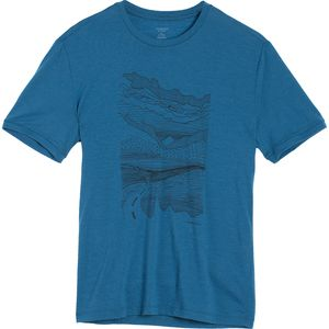 Icebreaker Tech Lite Road Trip Crew - Short-Sleeve - Men's