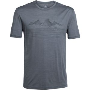 Icebreaker Tech Lite Approach Crew Shirt - Short-Sleeve - Men's