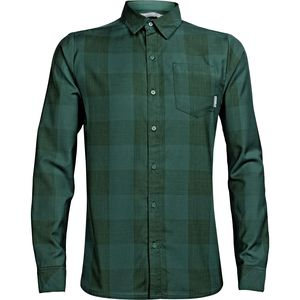 Icebreaker Departure II Plaid Shirt - Long-Sleeve - Men's