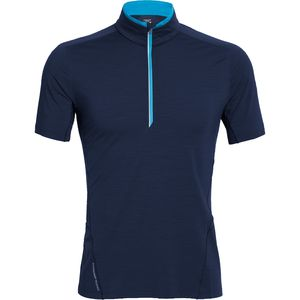 Icebreaker Strike Half-Zip Shirt - Short-Sleeve - Men's